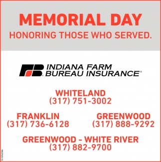 Memorial Day Honoring Those Who Served