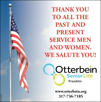 Thank You To All The Past And Present Service Men And Women.