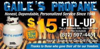 Honest, Dependable, Personalized Service Since 1948