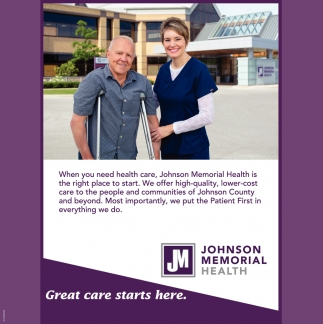 Great Care Starts Here.