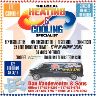 The Local Heating & Cooling Specialist