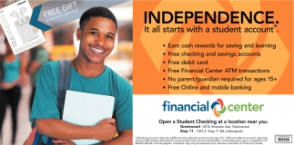 Independence, It All Starts With A Student Account