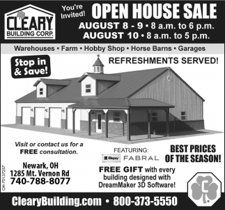 You're Invited Open House Sale