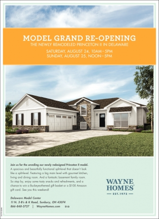 Model Grand Re-Opening