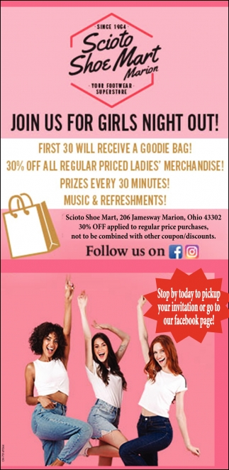 Join us for girls night out!