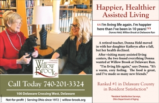 Happier, Healthier Assisted Living