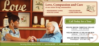 Love, Compassion and Care