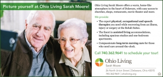 Picture yourself at Ohio Living Sarah Moore!