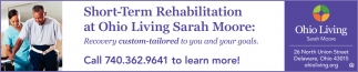 Short-Term Rehabilitation at Ohio Living Sarah Moore