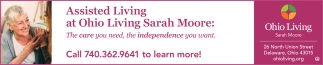 Assisted Living at Ohio Living Sarah Moore