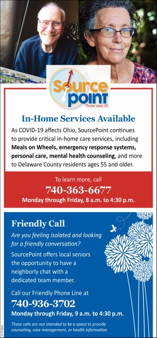 In-Home Services Available