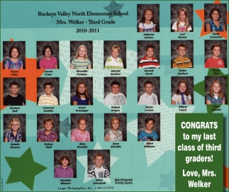 Congrats to My Last Class of third Graders!