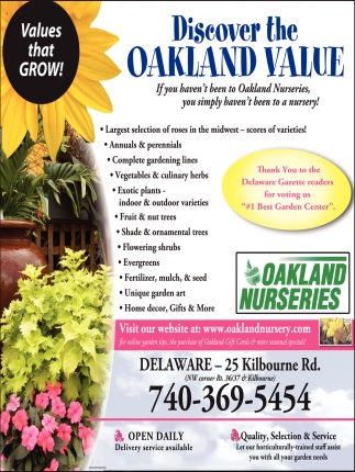 Discover the Oakland Value