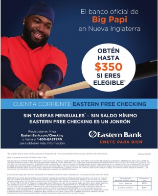 Cuenta Corriente Eastern Free Checking