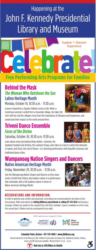 Free PErforming Arts Programs for Families