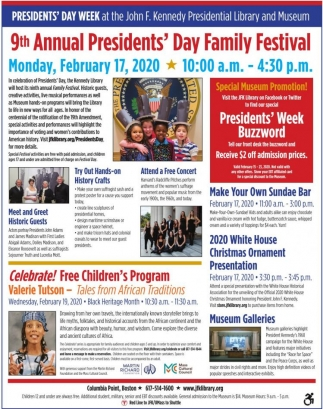 9th Annual President's Day Family Festival
