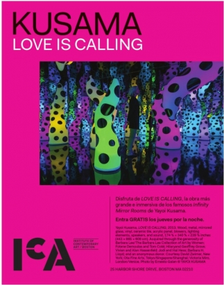 Kusama Love is Calling
