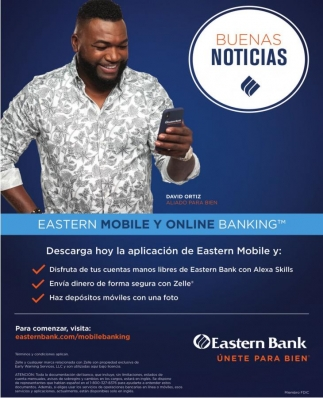 Eastern Mobile y Online Banking
