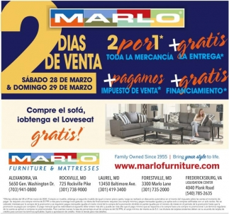 Ventas Marlo Furniture Laurel Md, Marlo Furniture In Laurel Md