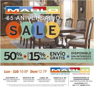 65 Aniversario Marlo Furniture, Marlo Furniture Rockville