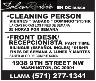 Cleaning Person