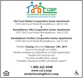 Cooperative Senior Apartments