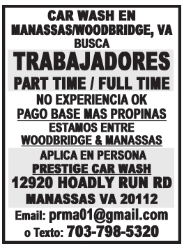 Trabajadores Part Time / Full Time