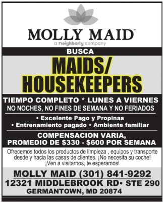 Maids/Housekeepers