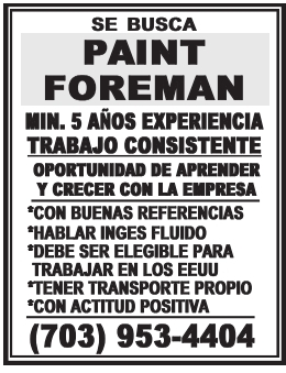Paint Foreman