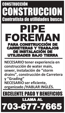 Pipe Foreman