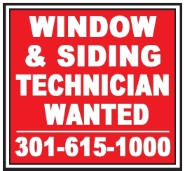 Window & Siding Technician Wanted