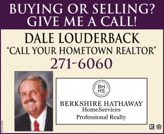 Call your hometown realtor