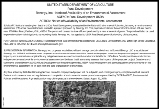 Notice of Availability od an Enviromental Assessment