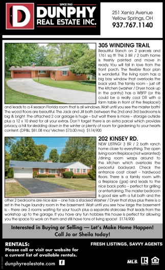 305 Winding Trail | 202 Kinsey Rd.