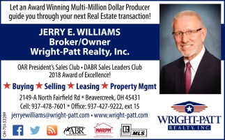 Jerry E. Williams - Broker/Owner