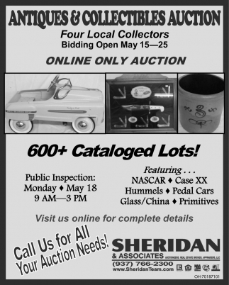 Antiques & Collectibles Auction