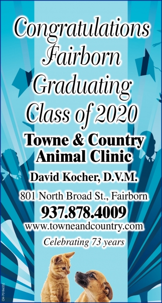 Congratulations Fairborn Graduating Class 2020