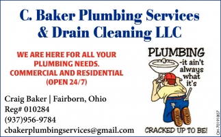 We Are Here For All Your Plumbing Needs