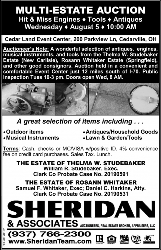 Multi-Estate Auction