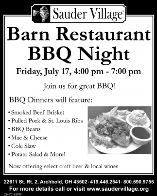 Ban Restaurant BBQ Night