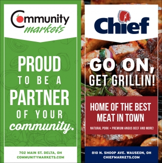 Proud to be a partner of your community!
