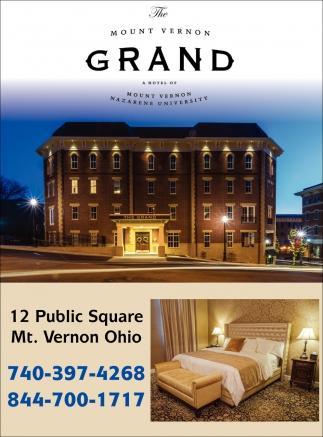 Located Near Mount Vernon Nazarene University The Mount Vernon Grand Hotel Mount Vernon Oh