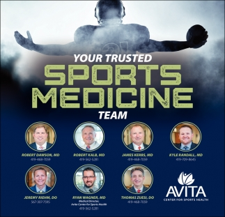Your Trusted Sports Medicine Team
