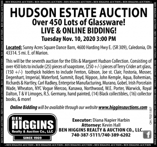 Hudson Estate auction