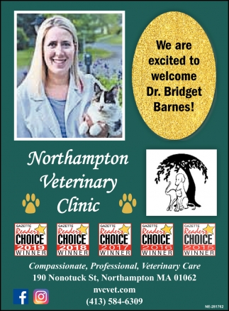 We are Excited to Welcome Dr. Bridget Barnes, Northampton ...