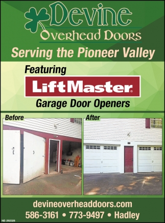 Serving The Pioneer Valley Devine Overhead Doors Hadley Ma