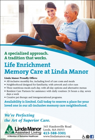 Memory Care at Linda Manor
