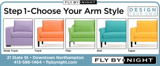 Step 1-Choose your Arm Style