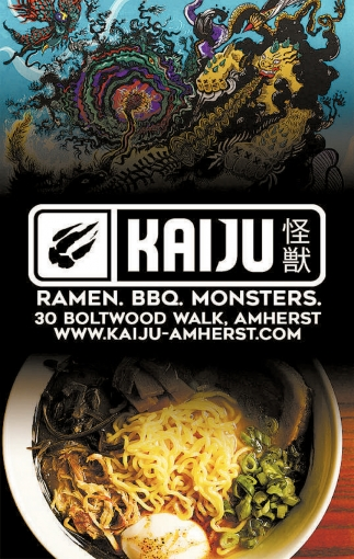 Ramen. BBQ. Monsters