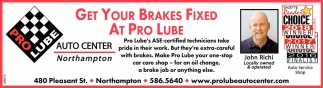 Get your Brakes Fixed